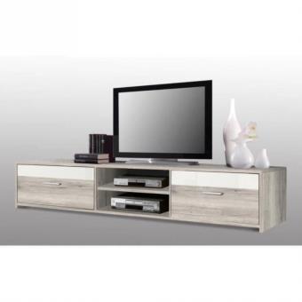 avec led meuble tv banc tv