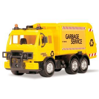 camion poubelle jaune john world