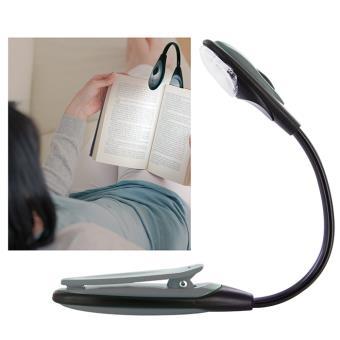 lampe de lecture flexible led pour livre bricolage gris