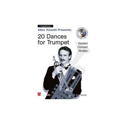 Partitions jazz&blues DEHASKE VIZZUTTI A. - 20 DANCES - TROMPETTE Trompette