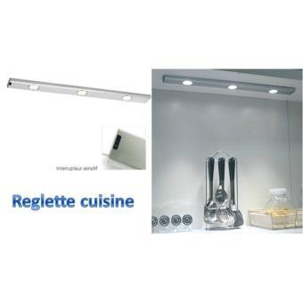 reglette de cuisine a leds eclairage sous meuble de cuisine