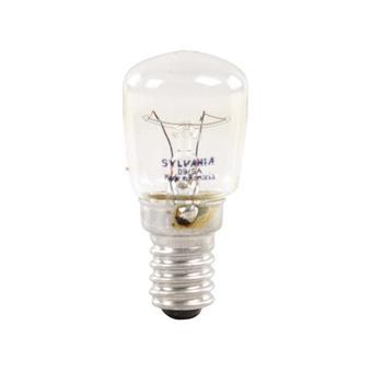 ampoule pour four 25w 240v e14 transparente sylvania
