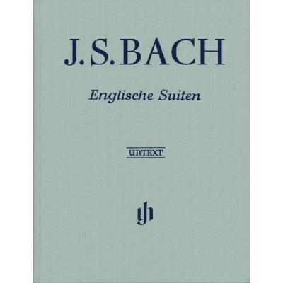 Partitions classique HENLE VERLAG BACH J.S. - ENGLISH SUITES BWV 806-811 - PIANO Piano