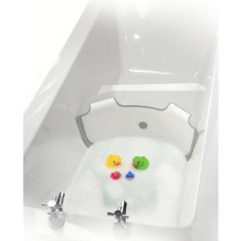 babydam reducteur de baignoire blanc gris autres toilette et soin achat prix fnac