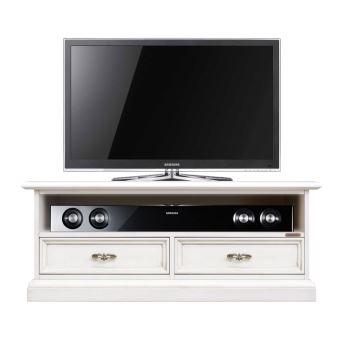 meuble tv bas avec niche barre de son