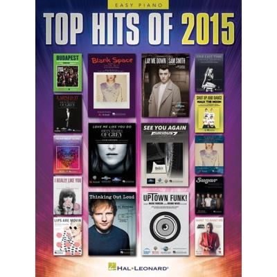 Top Hits Of 2015 Easy Piano Songbook