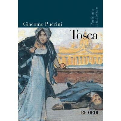 Partitions classique RICORDI PUCCINI G. - TOSCA - CONDUCTEUR Grand format