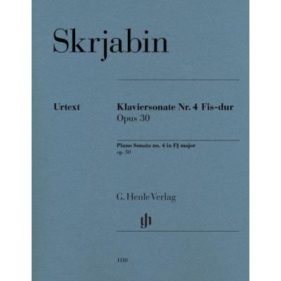 Sonate No4 Op.30 Fa# Maj.