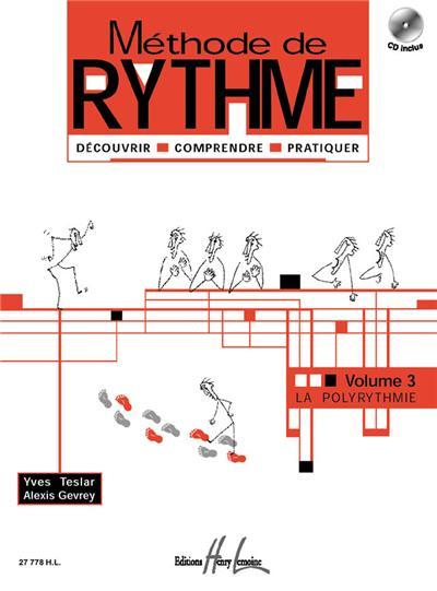 METHODE DE RYTHME VOL 3+CD