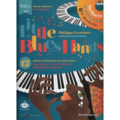 Little Blues Hands 12 Pieces D´Initiation Au Piano Jazz +Cd