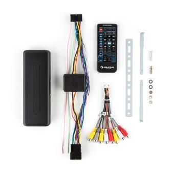 auna mvd 240 autoradio multimedia avec ecran retractable 18cm lecteur dvd usb sd et bluetooth