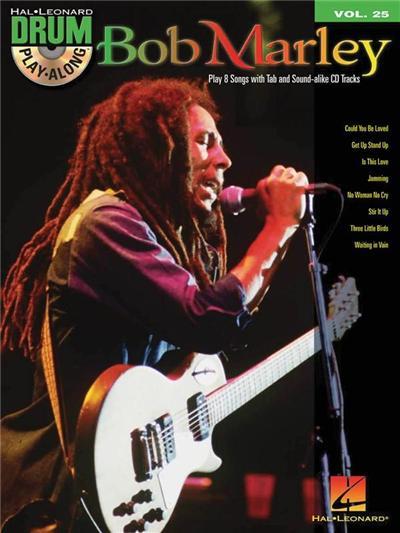 Drum Playalong Bob Marley Vol.25 + Cd