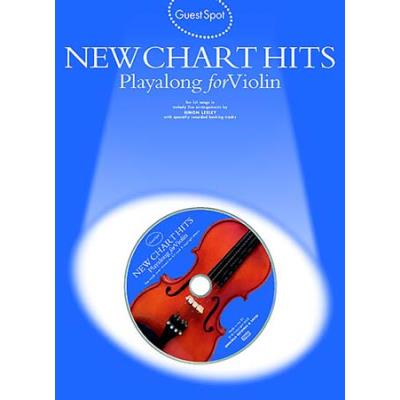 Guest Spot: New Chart Titles Playalong For Violin + Cd