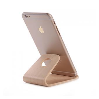 support universel smartphone bureau en bois marron autres achat prix fnac