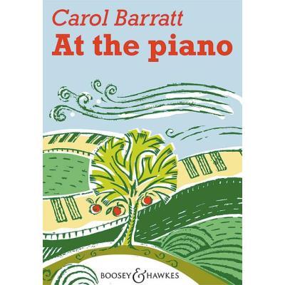 Partitions classique BOOSEY & HAWKES BARRATT CAROL - AT THE PIANO - PIANO Piano
