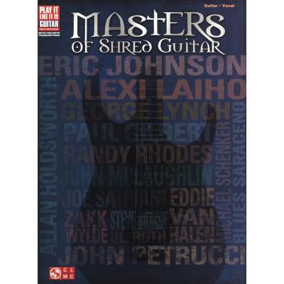 Masters Of Shred Guitar Tab.