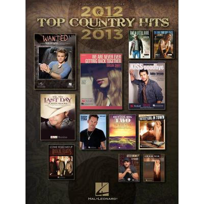 Top Country Hits Of 2012-2013 P/V/G