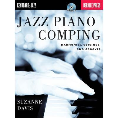 Berklee Jazz Piano Comping Harmonies, Voicings And Grooves By Suzanne Davis + Cd