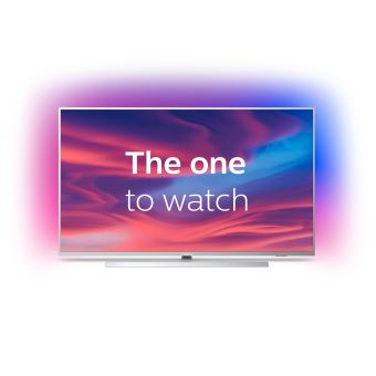 tv philips the one 58pus7304 4k uhd ambilight 3 cotes smart android tv 58 application disney disponible