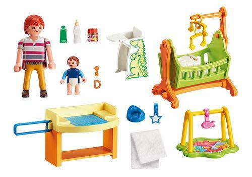 playmobil dollhouse 5304 chambre de bebe