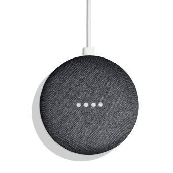 Google Home Mini Assistant Vocal Charbon