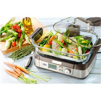 cuiseur vapeur cuisinart cookfresh stm1000e 1800 w gris