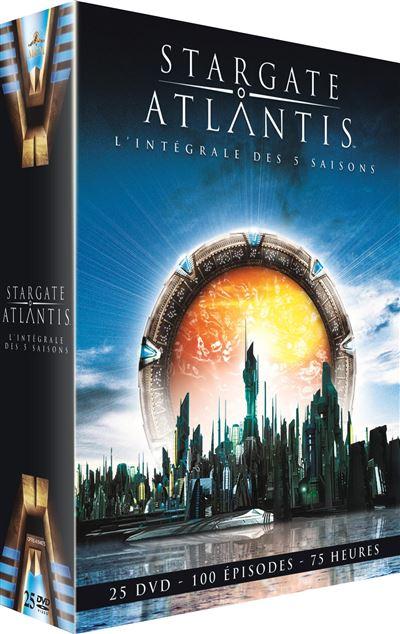 stargate atlantis coffret saisons 1 a 5 dvd