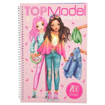 5 Sur Album Top Model Dress Me Up Avec 200 Stickers