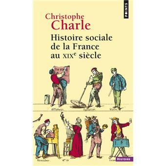 histoire sociale de la france au xixe siecle