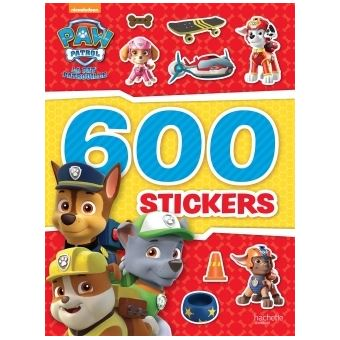 pat patrouille paw patrol la pat patrouille 600 stickers