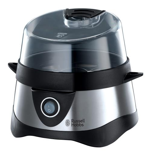 Cuiseur à ufs Russell Hobbs Cook@home 14048-56 pour 7 ufs 365 W Inox