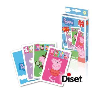 jeu de cartes peppa pig diset