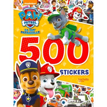 pat patrouille 500 stickers