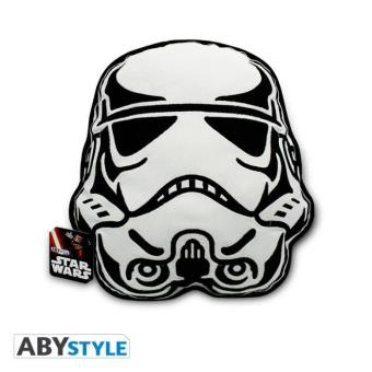 coussin peluche storm trooper star wars abystyle 35 cm