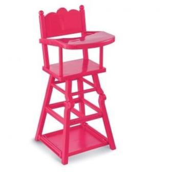 chaise haute cerise pour poupons corolle