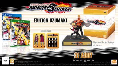 Naruto to Boruto Shinobi Striker PS4 Edition Collector