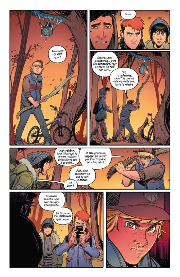 Alienated, Chris Wildgoose, Simon Spurrier et André Way, Hi Comics