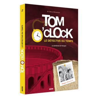 """Résultat de recherche d'images pour """"livre Tom' o'Clock le détective du temps tome 2"""""""