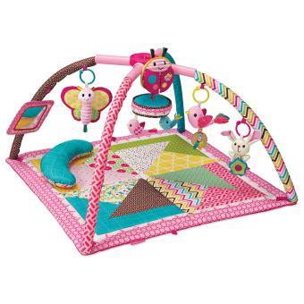 tapis de jeux infantino twist fold rose