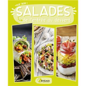 salades de l entree au dessert