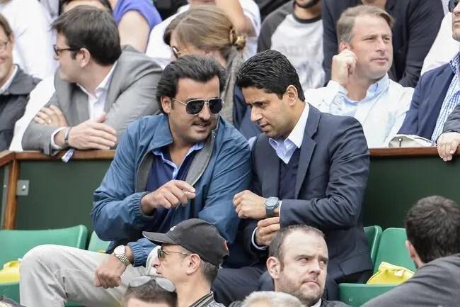 """Résultat de recherche d'images pour """"Nasser Al-Khelaifi remplacé par un frère de l'émir du Qatar ?"""""""