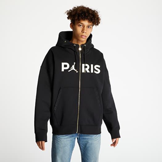 jordan x psg hoodie black footshop