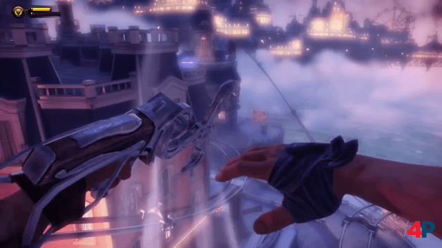 BioShock Infinite in particular fascinates with its acrobatic action.