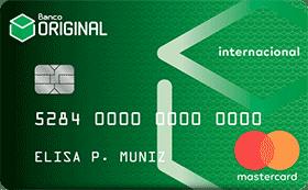 Cartão de Crédito Original MasterCard® Internacional