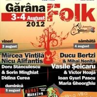 Semenic Fest prezintă Gărâna Folk