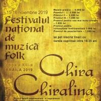 Recitaluri Chira Chiralina 2019
