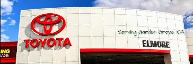 In doing so, you'll find the chrysler car or t. Toyota Dealership Serving Garden Grove Elmore Toyota