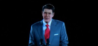 Ronald Reagan comes back to life at presidential library – via virtual reality
