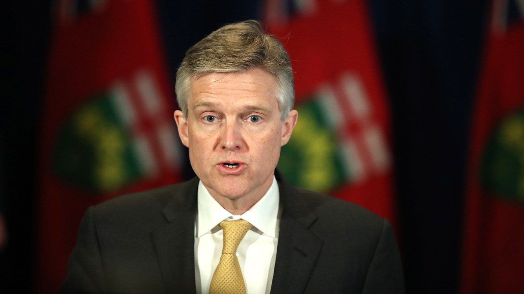 Ontario's finance minister, went to Caribbean holiday amid pandemic, resigns