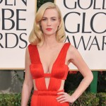 January Jones poses in barely-there peach two-piece: 'I fear I may be boring' 💥👩💥